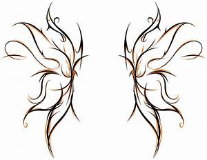 Tribal Butterfly Drawings - ClipArt Best