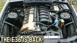 Finally Back To Work On The E36    Bmw E36 325i Drift