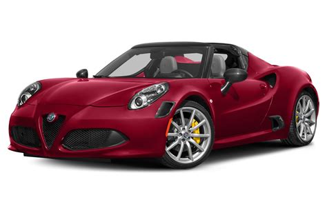 new 2018 alfa romeo 4c spider price photos reviews safety ratings features
