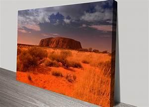 Australian Landscape Photo Wall Art Print Uluru Australia
