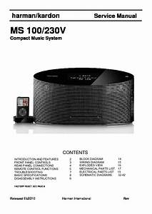 Harman Kardon Ms 100  Serv Man3  Service Manual