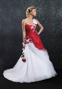 robes de mariee la vie en rouge mariagecom With robe de marie avec alliance pour mariage