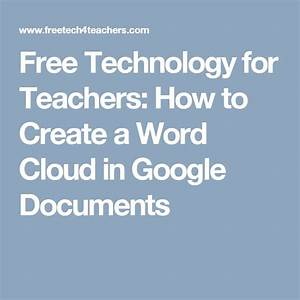 best 25 word cloud free ideas on pinterest make a word With google docs word cloud