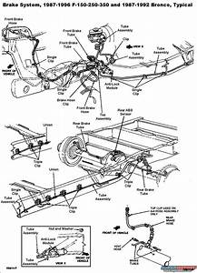 34 Ford F250 Brake Line Diagram