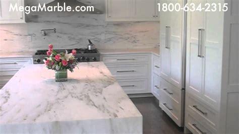 Calacatta Gold Marble Kitchen Countertops   YouTube