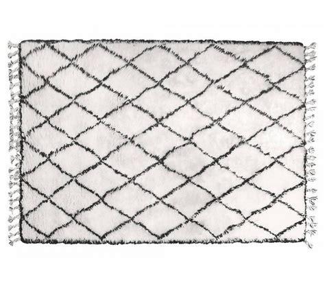 hk living berber teppich schwarz weiss guenstig kaufen