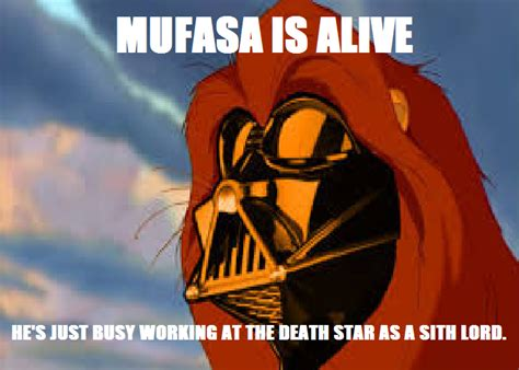 Mufasa Meme - darth mufasa meme by supermariojustin4 on deviantart