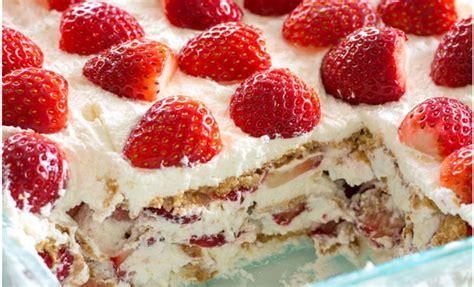 dessert au fraise facile voici le meilleur g 226 teau aux fraises et 192 la cr 232 me fouett 233 e un dessert sans cuisson