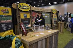 sod is rolling out their new home garden show booth