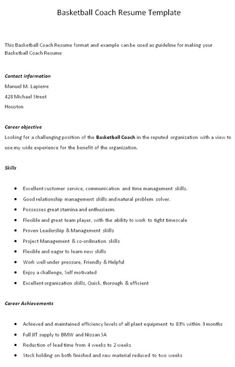 baseball coaching resume resume templates site