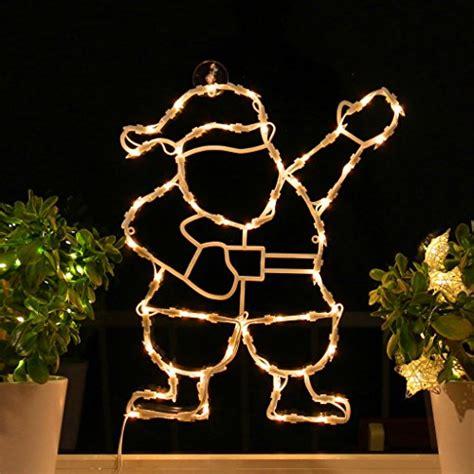 Weihnachtsdeko Fenster Saugnapf by Fensterbild Beleuchtet 42cm Mit 50 Led Motiv