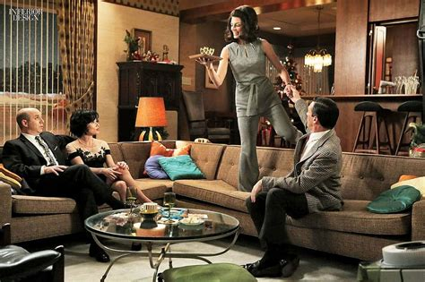 Home Interior Old Man And Woman :  The Mad Men Style At Home