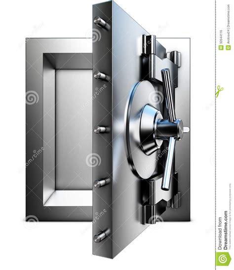 chambre de compensation banque chambre forte de banque image libre de droits image