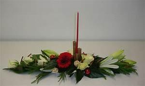 Art Floral Centre De Table Noel : tutoriel centre de table rouge et blanc femme2decotv ~ Melissatoandfro.com Idées de Décoration
