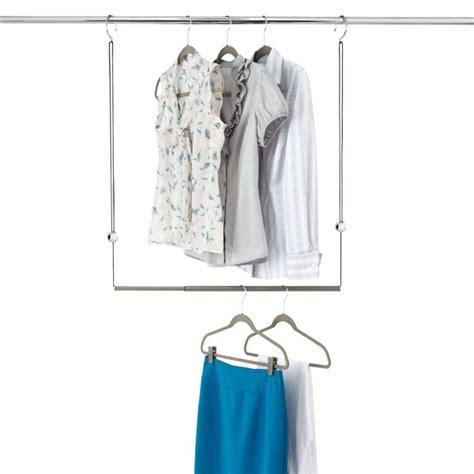 umbra dublet adjustable closet rod expander the