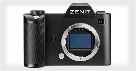 Zenit's Full Frame Mirrorless Camera to Be a Rebranded ...