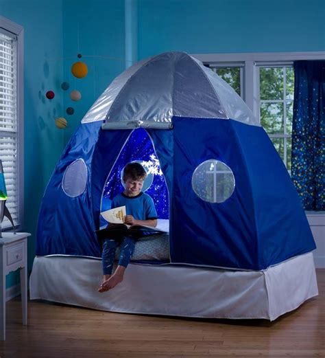 Toddler Bed Mattress Topper by Galactic Bed Tent Room Play Spaces