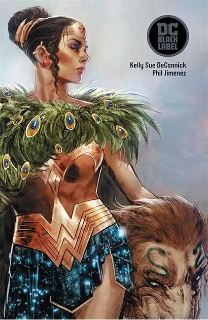 Wonder Woman Historia Dc Comics Label Amazons