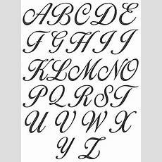 Best 25+ Cursive Letters Ideas On Pinterest  Cursive Alphabet, Cursive Fonts And Fancy Writing