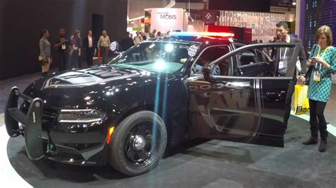 Dodge Charger Police Pursuit Showcases Latest Uconnect