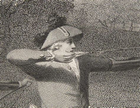 Engraving of Archery at Blackheath from the painting by ...