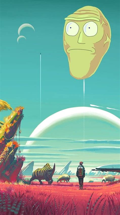 Anime Phone Wallpapers Imgur - rick and morty phone wallpaper dump imgur organizing a