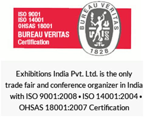 bureau veritas mumbai office exhibitions india iso 9001 2008 iso 14001 2004