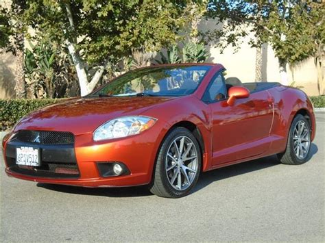Mitsubishi Eclipse Edmunds by Used Mitsubishi Eclipse Spyder For Sale Special Offers