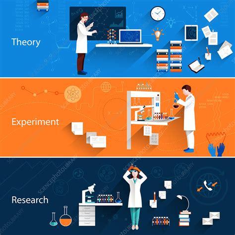Scientific research, illustration - Stock Image - F019 ...