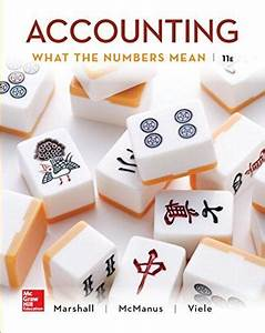 Solution   Instructor U2019s Manual For Accounting What Do The