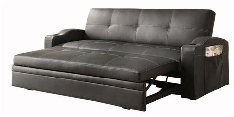 homelegance blk convertibleadjustable sofa