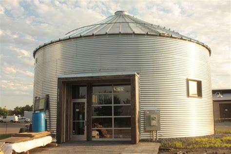 grain bin houses burro saint paul by bike every block of every street