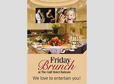 Al Waha Friday Brunch at Gulf Hotel Bahrain Events