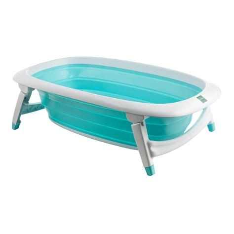 baignoire pliante bleu de formula baby baignoires aubert