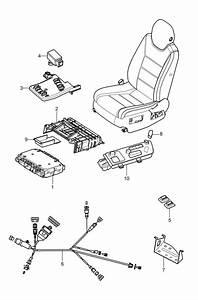 Porsche Cayenne Wiring Harness Backrest