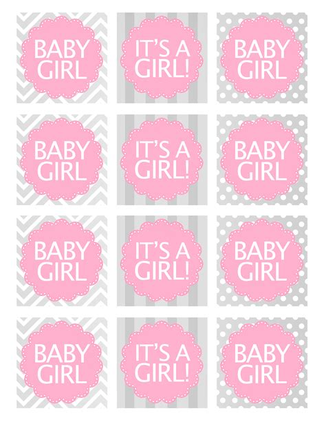 Template For Baby Shower Favors by Baby Shower Free Printables How To Nest For Less
