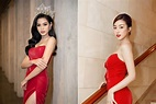 'Đụng' váy xẻ táo bạo với đàn chị Đỗ Mỹ Linh, Hoa hậu Đỗ ...