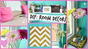 DIY: Easy Room Decor Ideas ♡ - YouTube