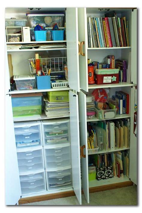 Homeschool Closet Organization Ideas by Home School Organization Maybe Get Ikea Bookshelfs With