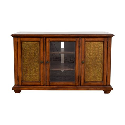distressed media cabinet distressed media consoles home ideas 3382