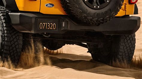 ford bronco teaser shows  rear  reveal date