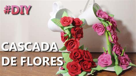 manualidades  flores de fomi centros de mesa  fomi como hacer  centro de mesa youtube