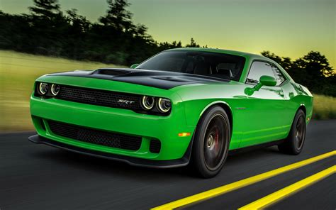 Dodge Challenger Srt Hellcat (2015) Wallpapers And Hd