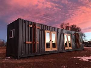 Intellectual Shipping Container Home by Roostspace