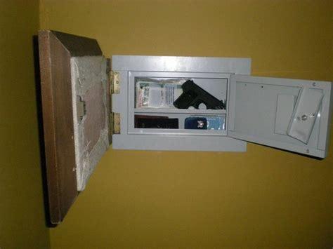 secret wall safe  pistol storage secret  secure