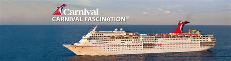 Carnival Fascination Cruise Ship, 2018 and 2019 Carnival ...