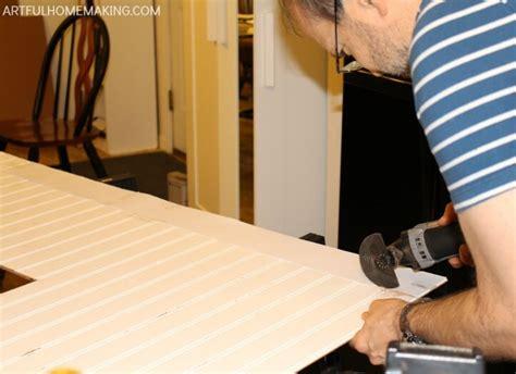 Cutting Beadboard : How To Install A Beadboard Kitchen Backsplash