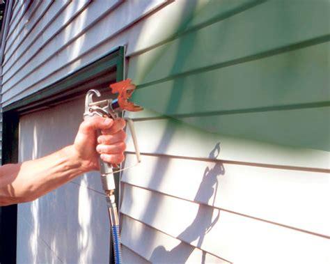 Best Airless Paint Sprayer Exterior