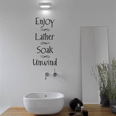 bathroom wall sticker  mirrorin notonthehighstreetcom
