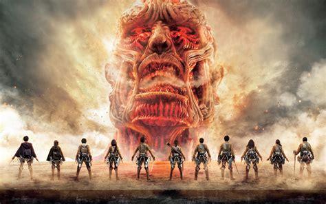 attack  titan japanese tv series poster full hd
